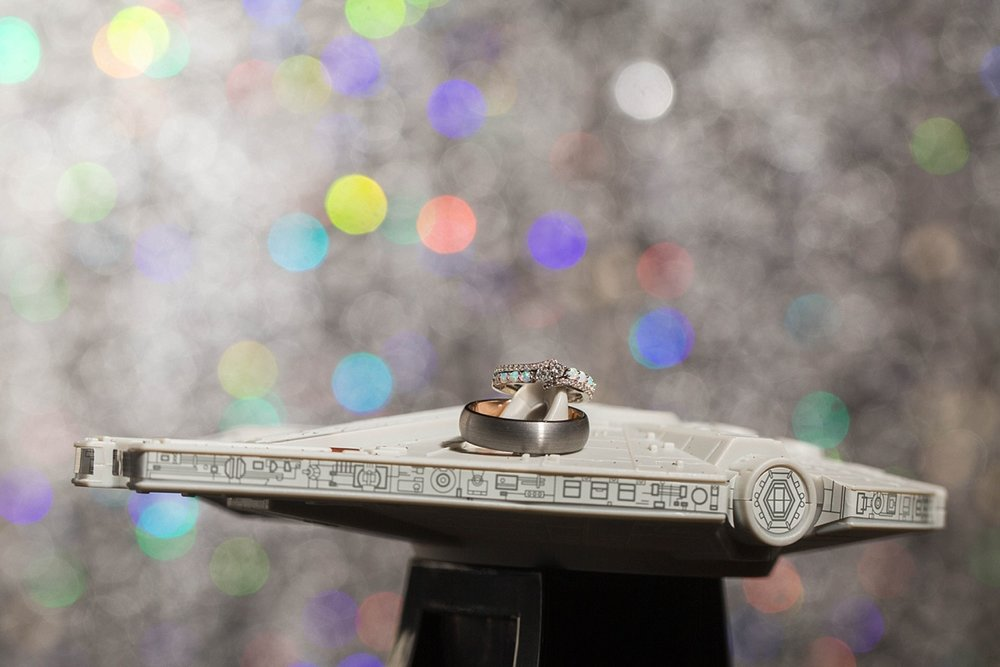 Star Wars Millennium Falcon Wedding