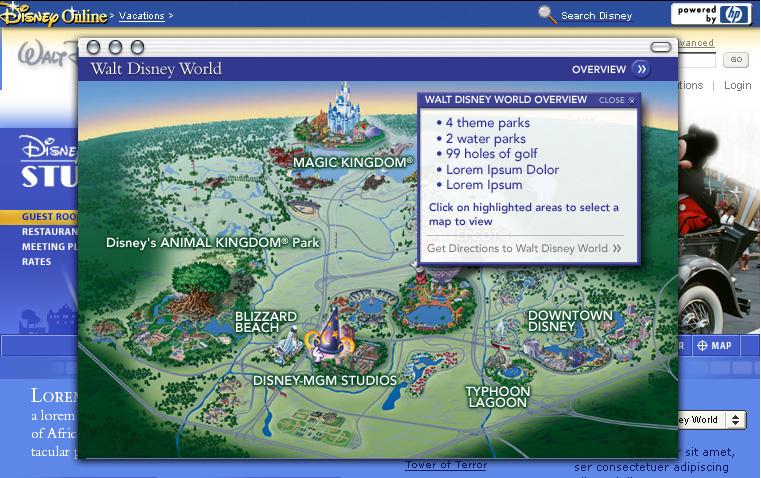 Walt Disney World Interactive Maps — Alli Mills