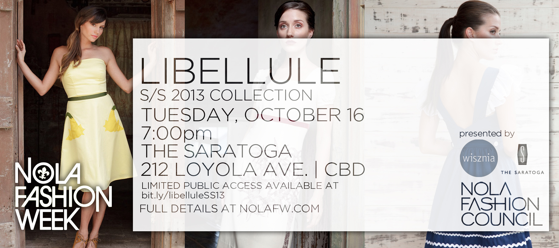 Libellule Nola Fashion Week