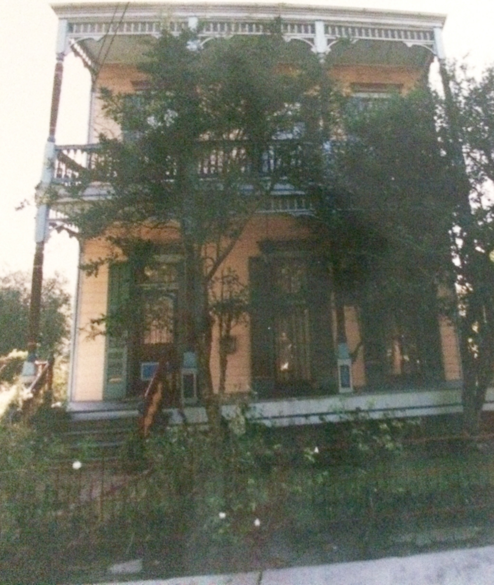 My heavily painted house c. 1994