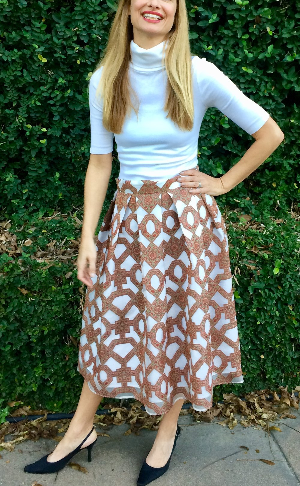 Our Holiday skirt in Light and Long.