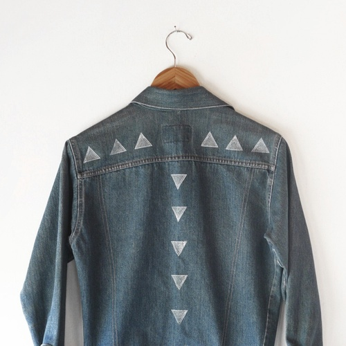 ART on DENIM – a symbiotic relationship of art and vintage denim from Montana to NYC and back again with artist Susan Connor.