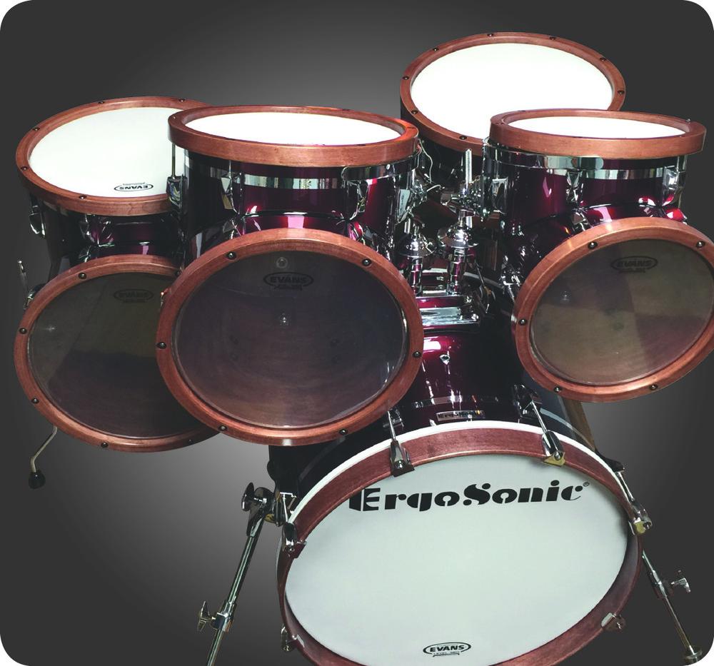 Angled Shell Drum Set (NEW) — ErgoSonic Percussion