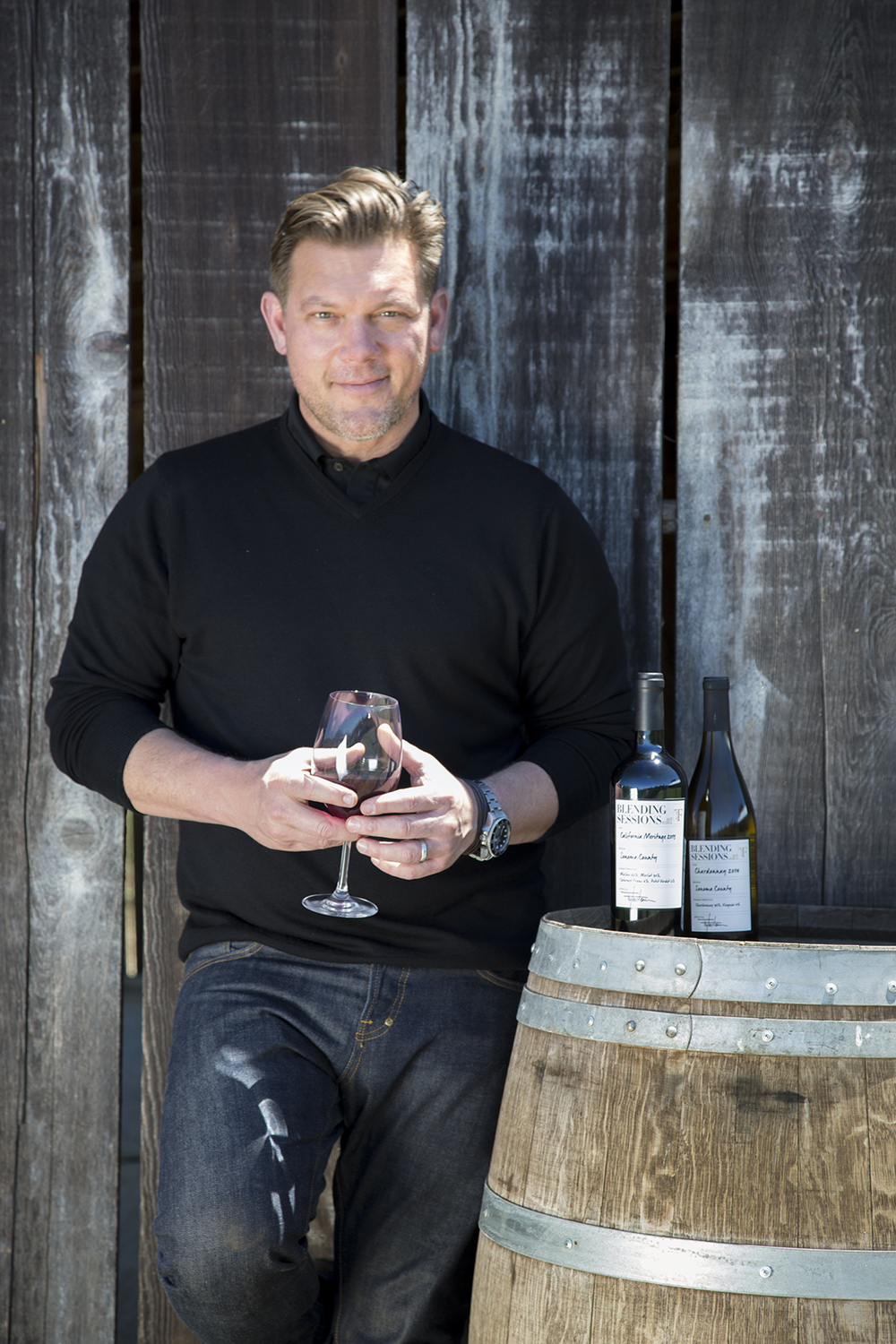 Tyler Florence for Blending Sessions Wine