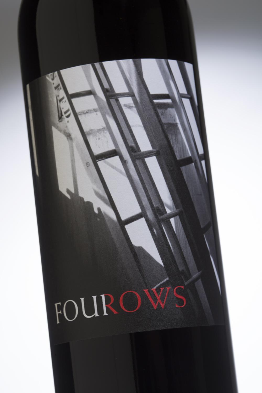 4Rows Wine label