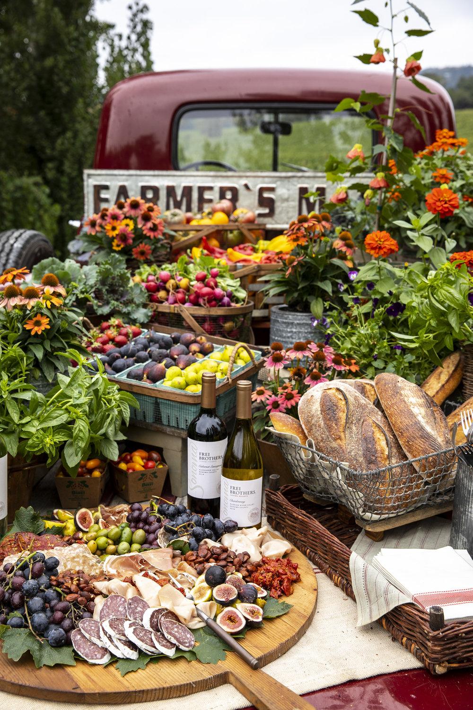 Frei Brothers Farmer's Market Spread