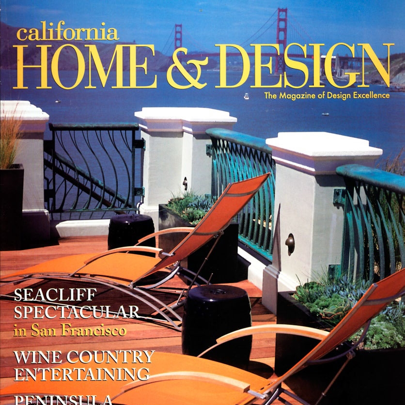 California Home & Design April 2003