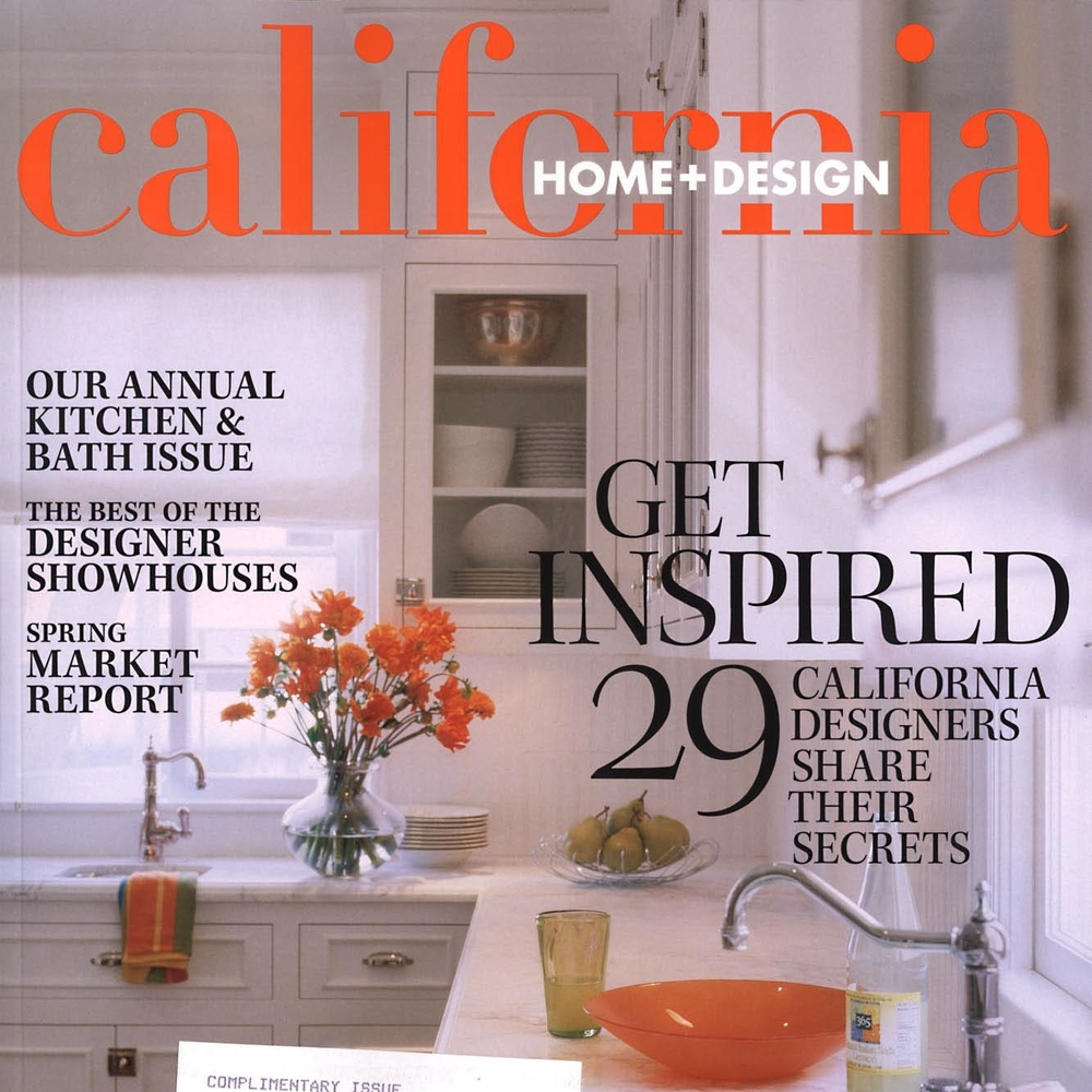 California Home + Design July 2005