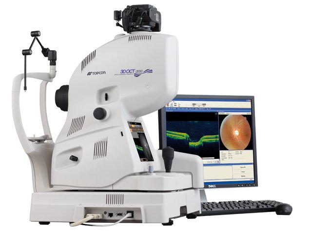 Optical Coherence Tomographer at Brad Abrahams