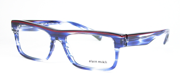 With this bold and vibrant Alain Mikli frame you can combat the dull colours of autumn!