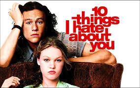 10 coisas que odeio em você