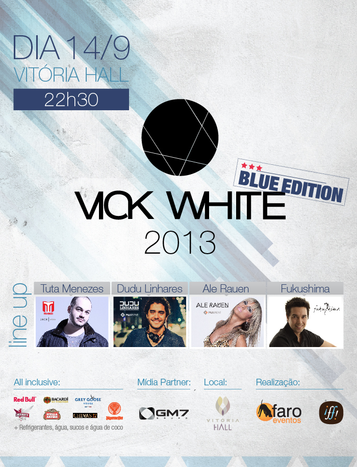 Vick White Party Blue Edition