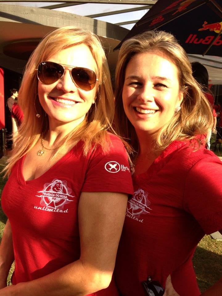 Celeste Barone e Raquel Baracat