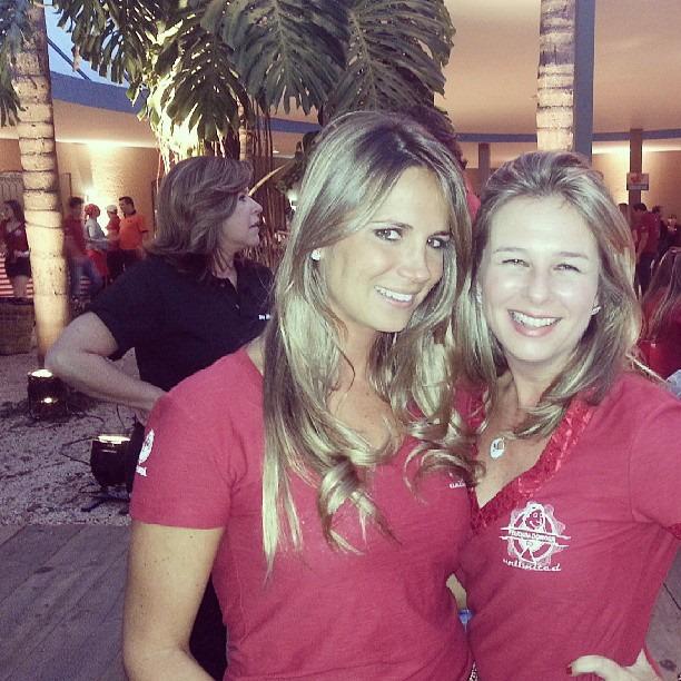 Patrícia Ribeiro e Raquel Baracat