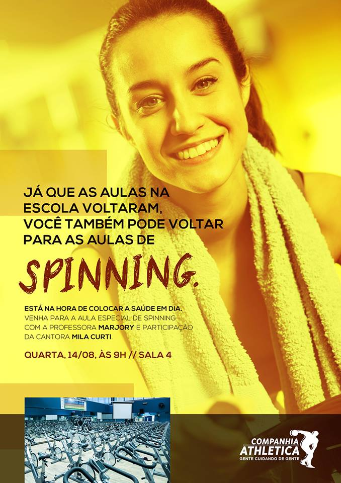 Spinning Cia Athletica