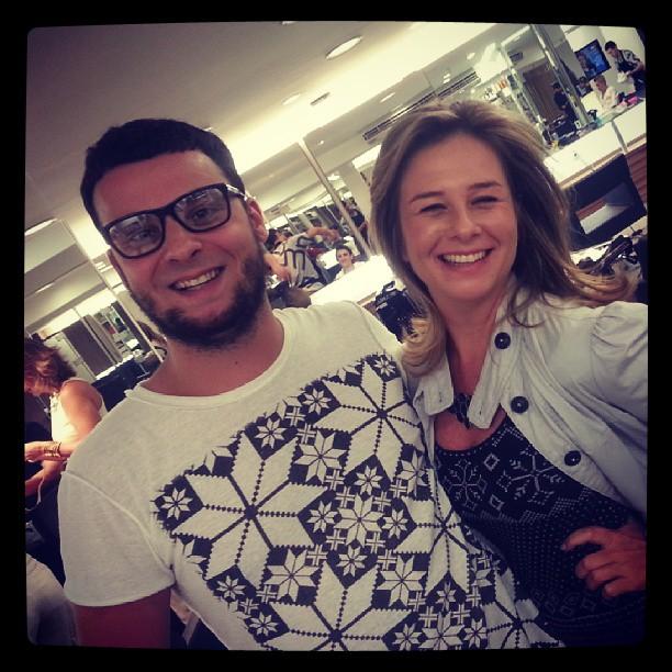 Raquel Baracat e Otavio