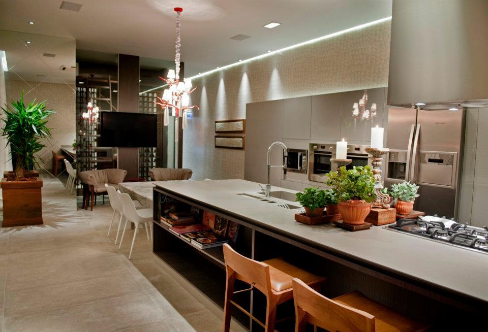 Espaço Gourmet — Raquel Baracat # Bancada Para Cozinha Onde Comprar