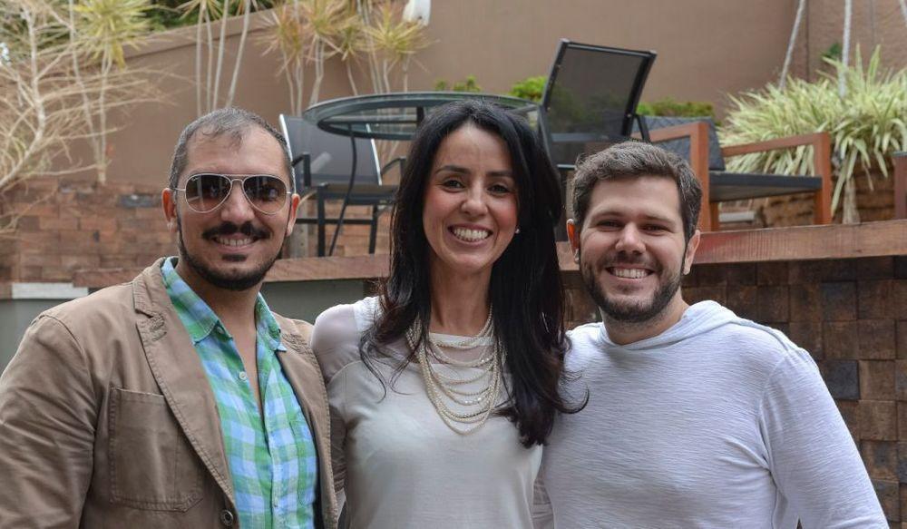 Christie Cornelio, Karina Melo e Diego Arasanz.jpg
