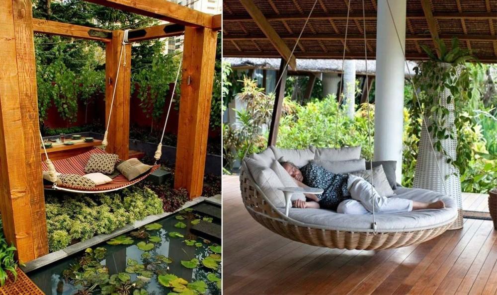 jardim quintal grande:Coluna Decoração por Naya Freitas – Balanços de Varandas — Raquel