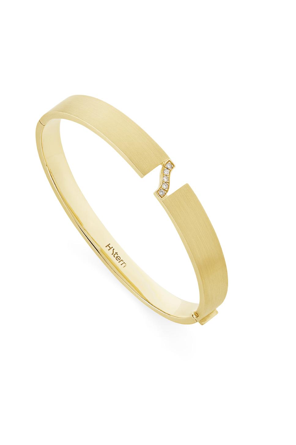 Assinatura HS - pulseira de ouro amarelo 18K com detalhes de diamantes (p2b 205102).jpg