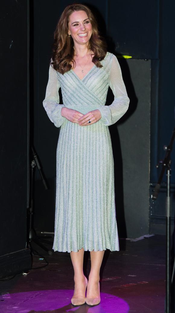 f06b8d328 Vestido usado por Kate Middleton na quarta-feira (7) esgotou no BrasilSamir  Hussein / AFP
