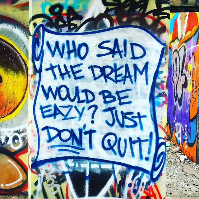 🙌🏼💥 #wordsofwisdom #graffiti #art #philly