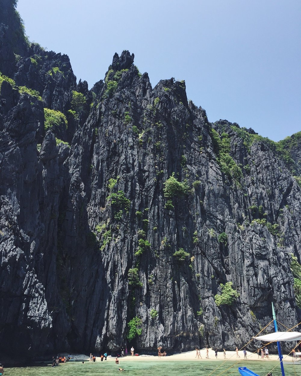 Limestone cliffs of El Nido, Palawan