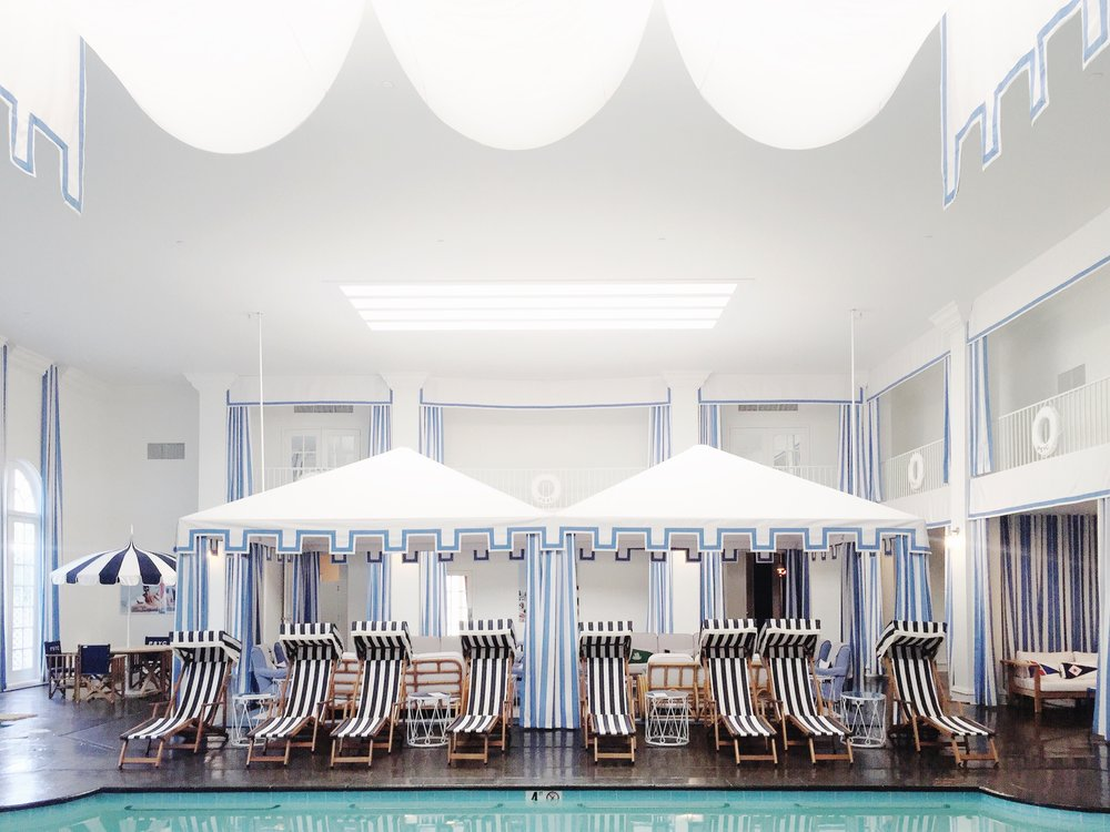 PSYC Spa (Palm Springs Yacht Club) at the Parker