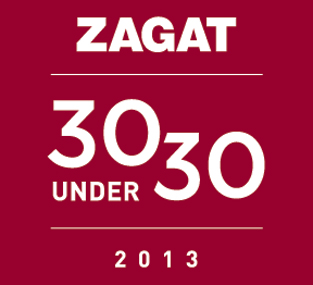 Daniel Delaney listed in Zagat's 30 under 30 for 2013