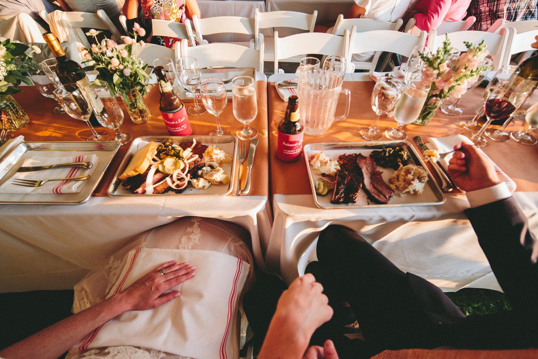 wedding catering u2014 delaney barbecue