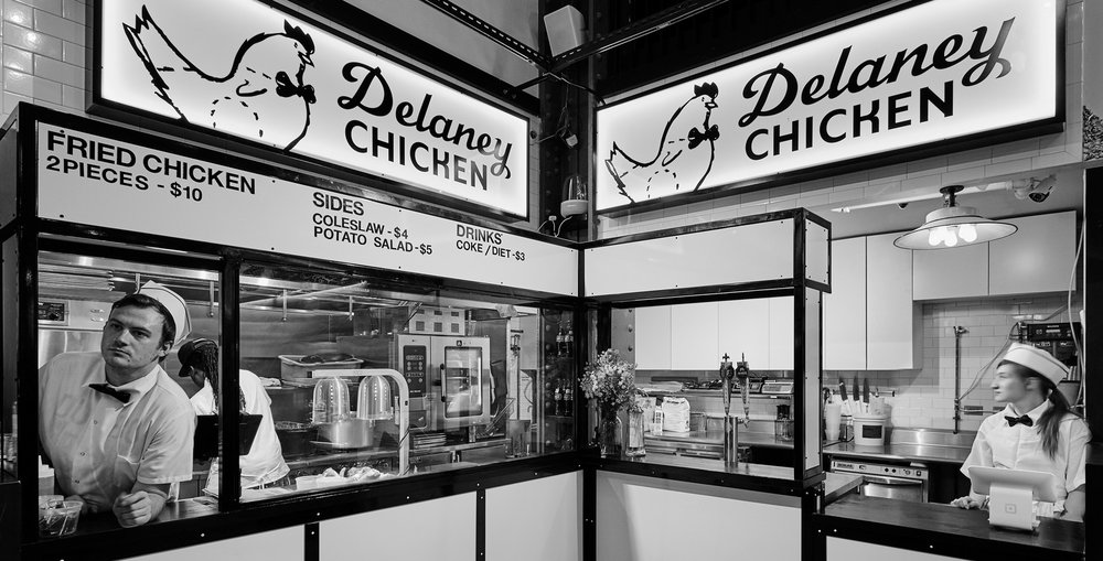 Delaney Chicken Urbanspace Vanderbilt Hall New York, NY 2016 – 2018