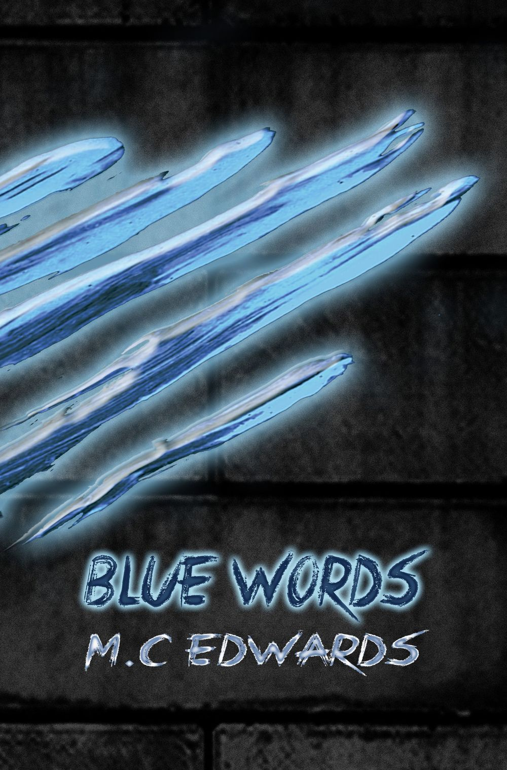 Blue Words by MC Edwards on Sophia Kimble