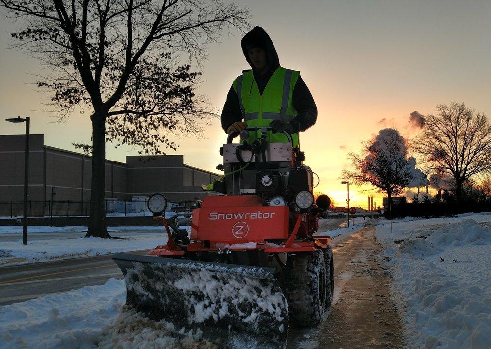 Sidewalk Machine Operator - Earn up to $35/hr