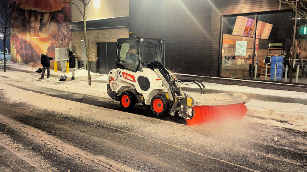 Dedicated Sidewalk Crews With Speciality Equipment