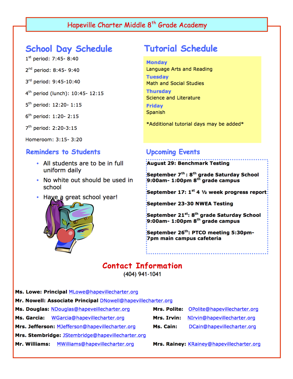 8th grade open house newsletter1.png