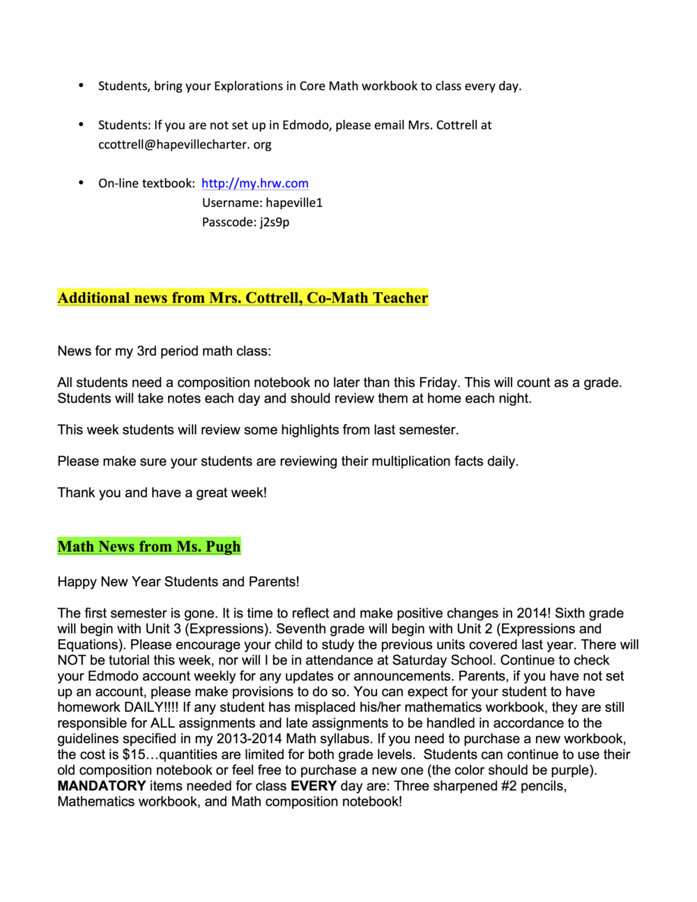 7th grade newsletter 1-9B.png