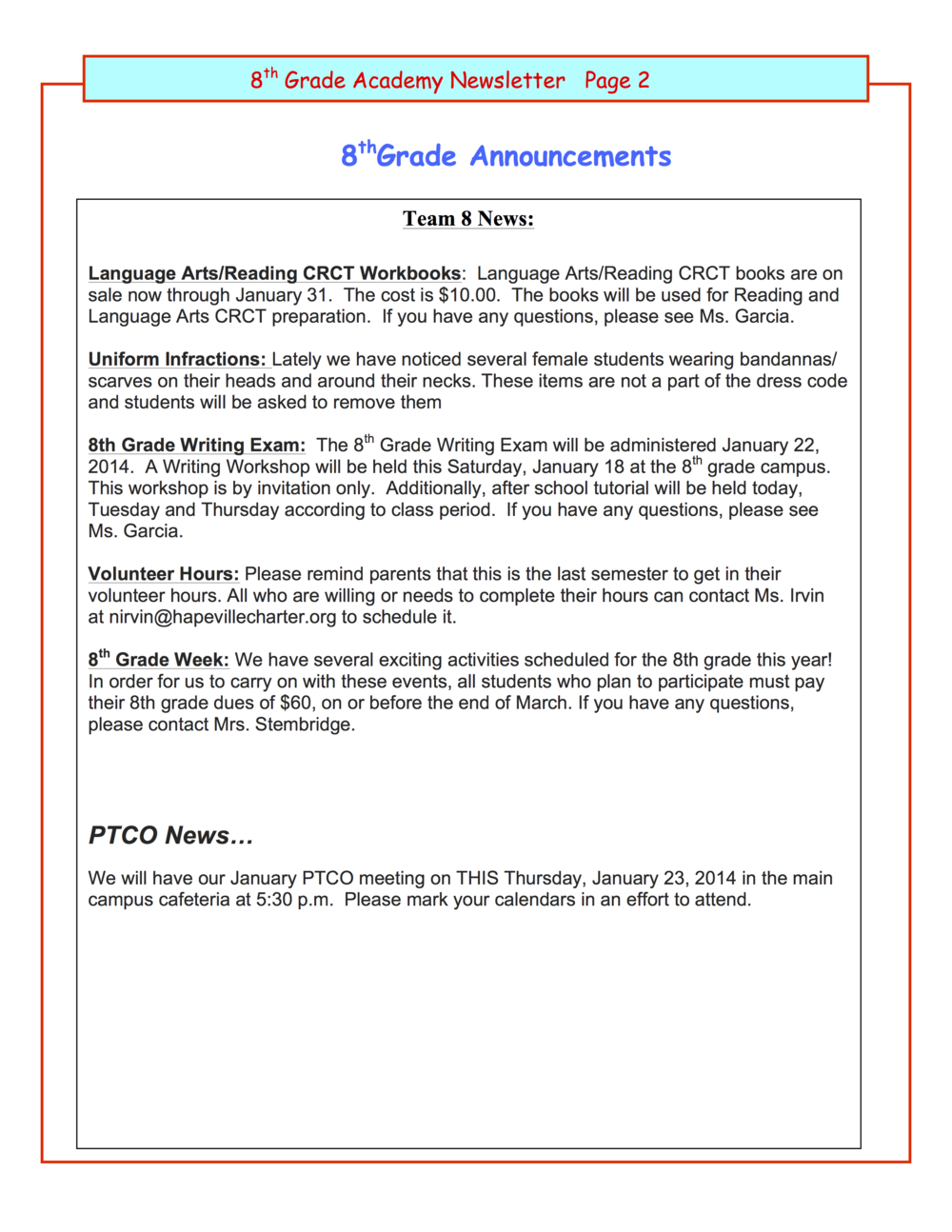 8th grade newsletter 1-21B.png