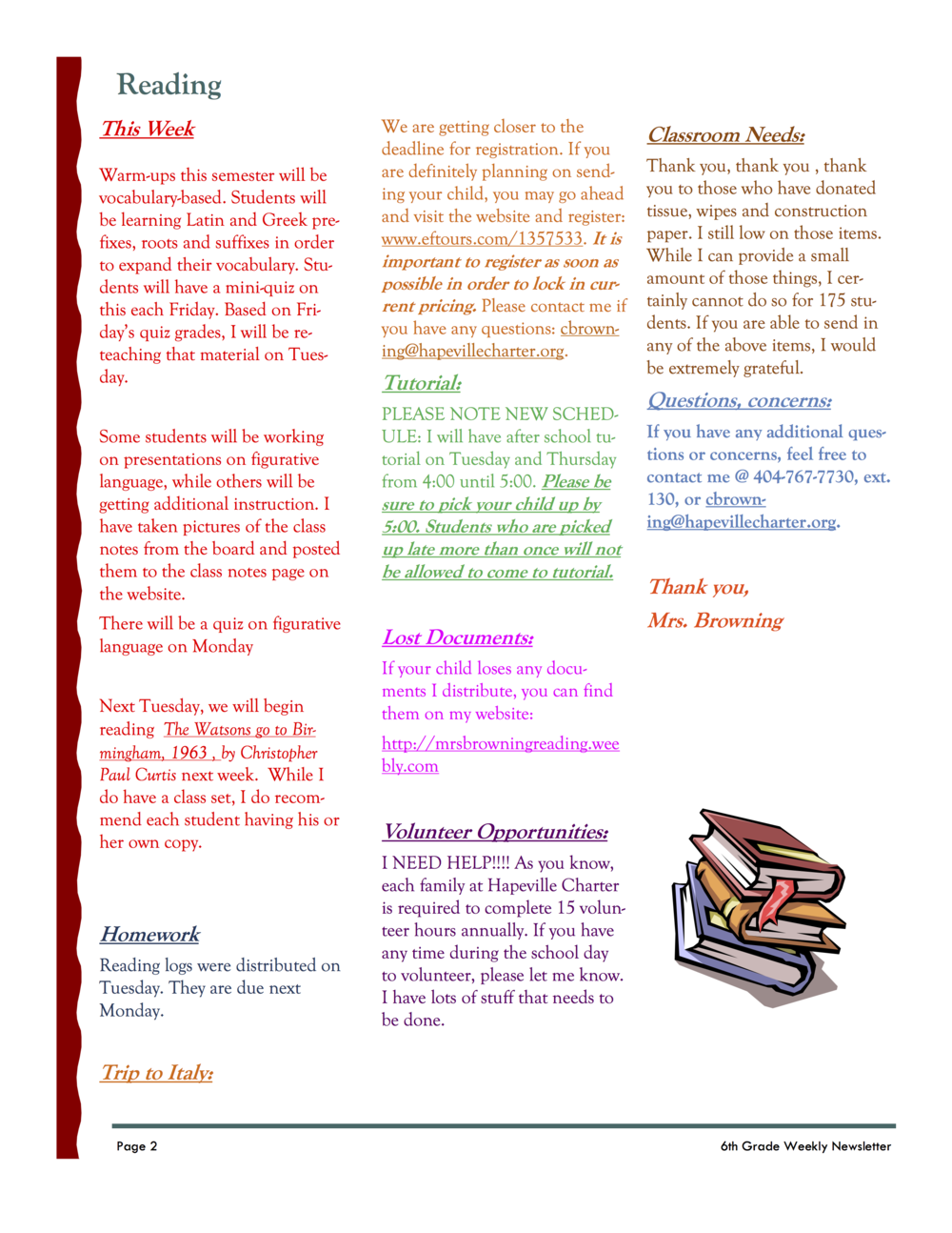 6th grade newsletter January 21B.png