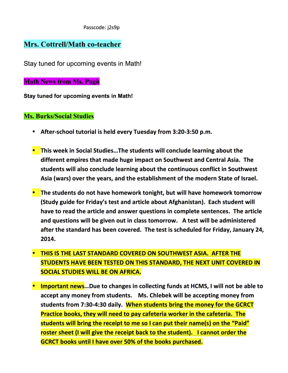 7th grade newsletter 1-21B.png
