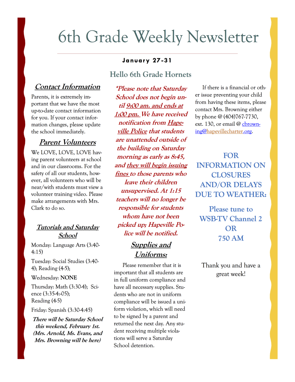 6th grade newsletter January 27-31A.png