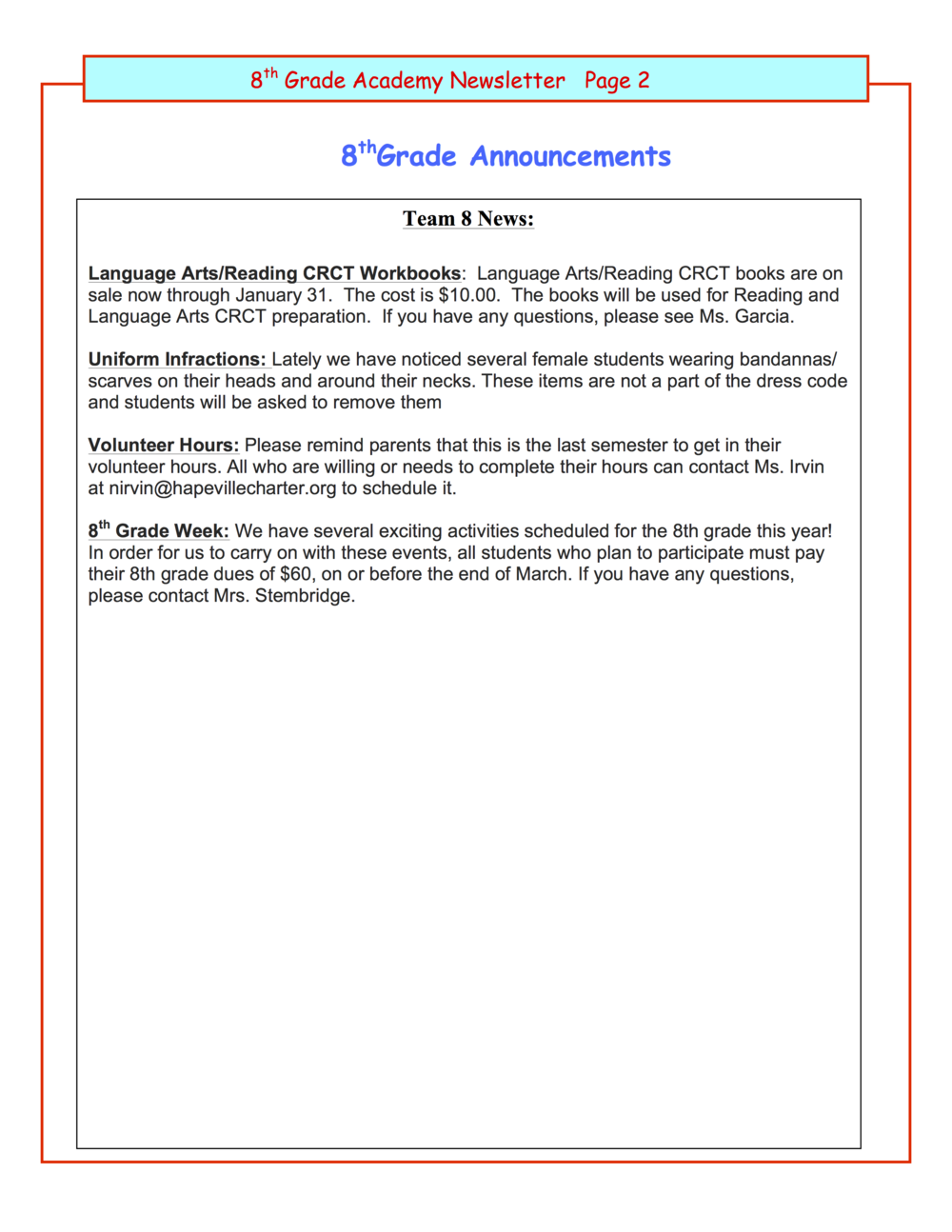 8th grade newsletter January 27B.png