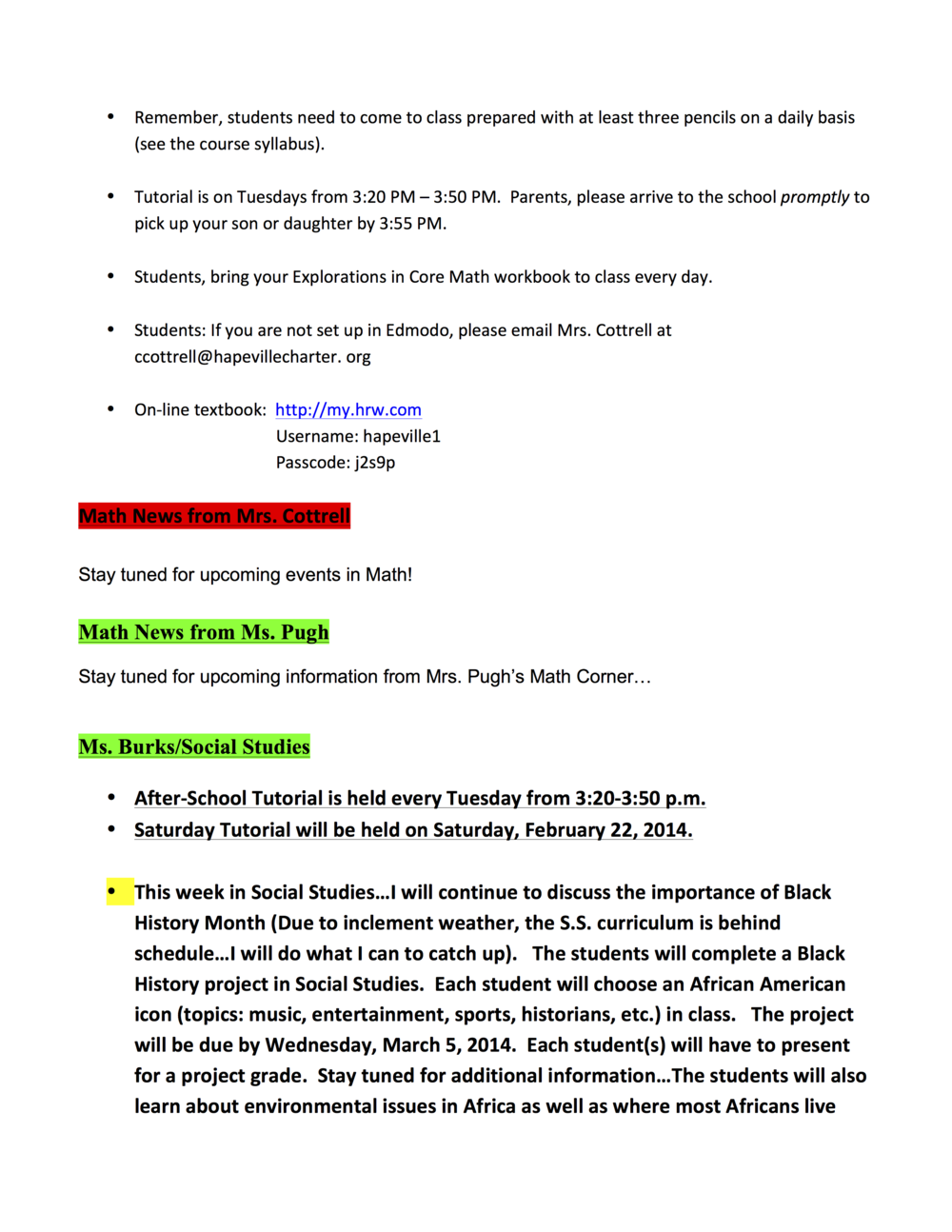 7th Newsletter for Monday, February 17, 2014B.png