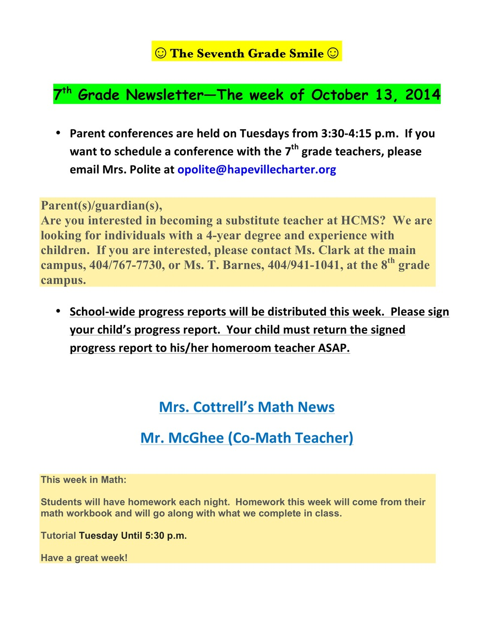 Newsletter Image7th grade October 13th 2014.jpeg