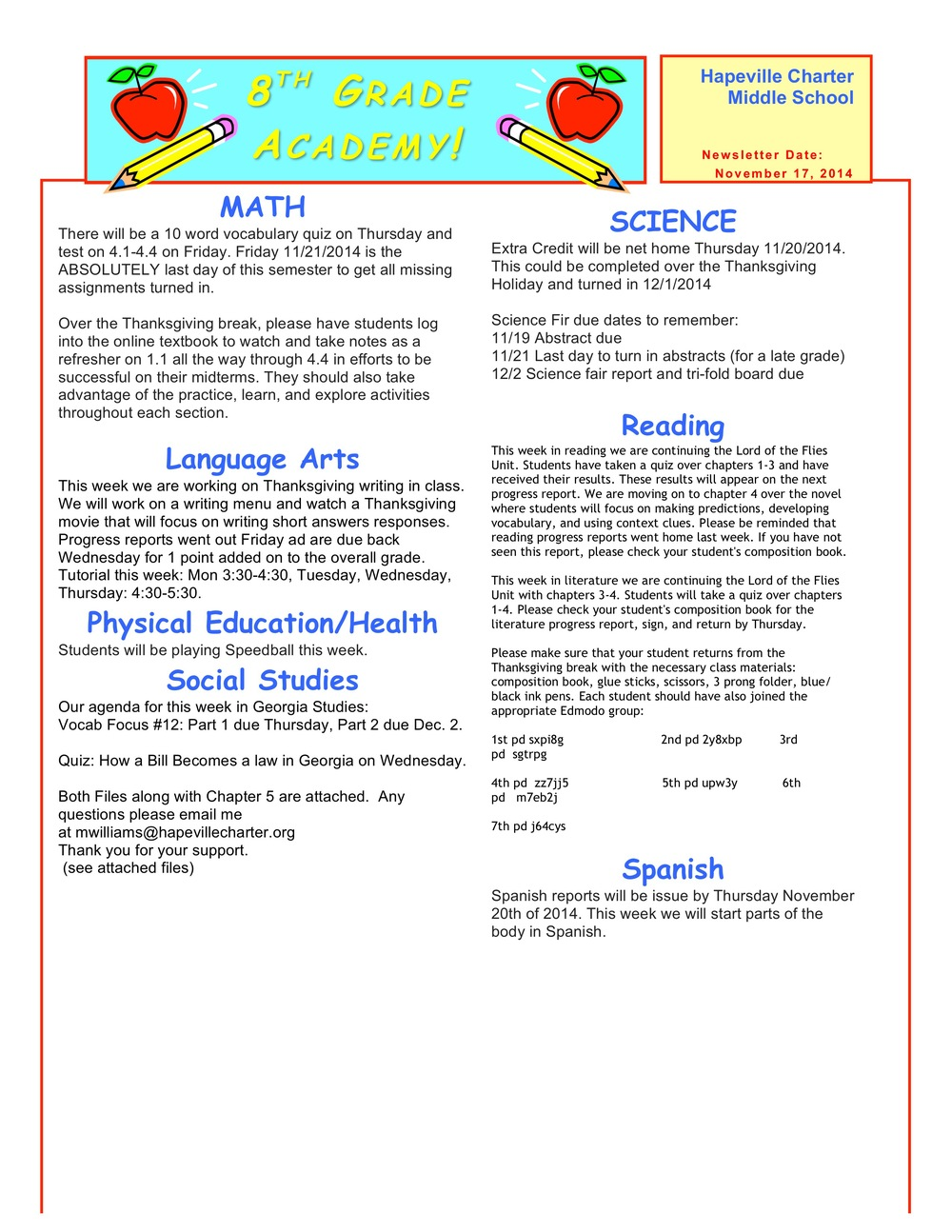 Newsletter Image8th grade November 17.jpeg