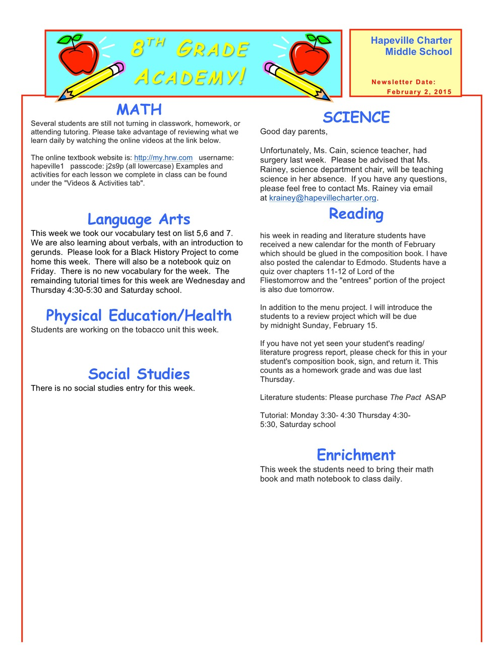 Newsletter Image8th grade February 2 .jpeg
