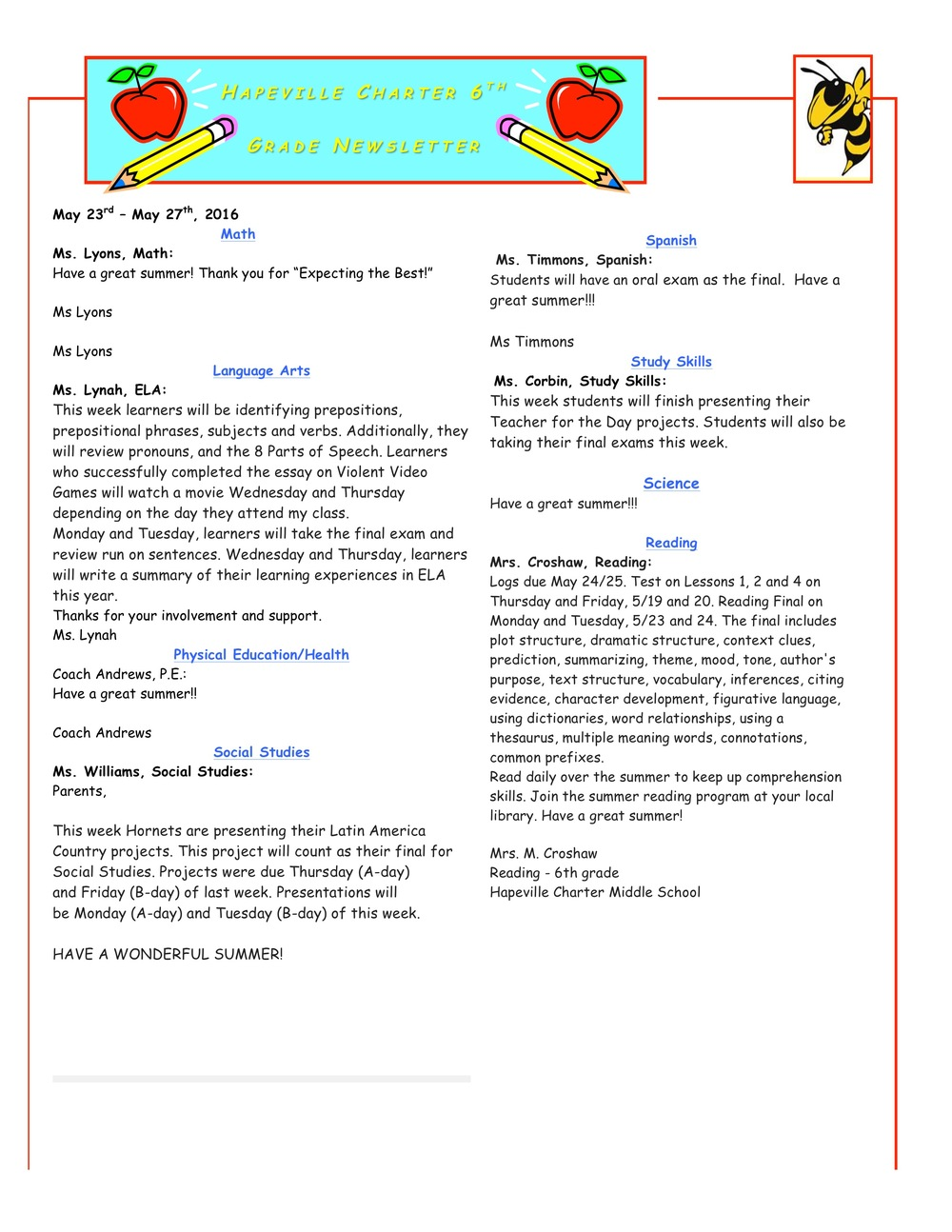 Newsletter Image6th Grade Newsletter 5-23-2016.jpeg