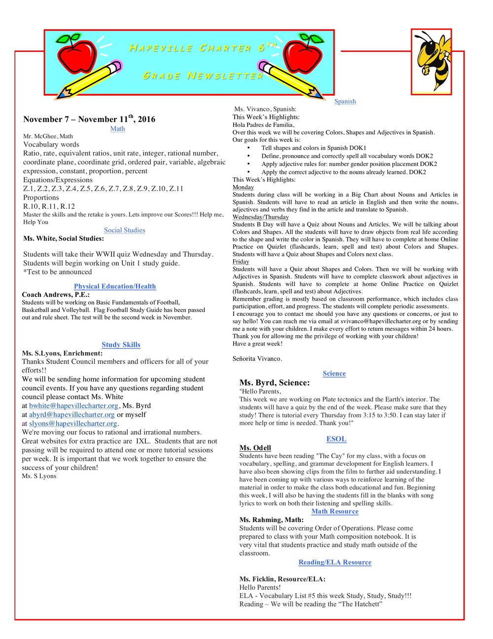 Newsletter Image6th Grade Newsletter 11-7-2016.jpeg