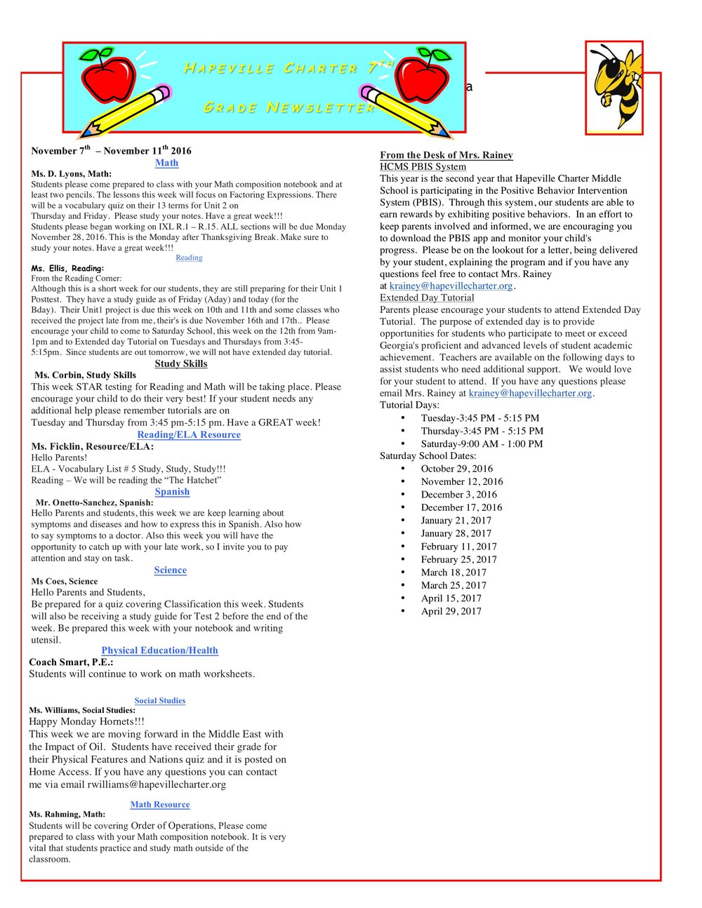 Newsletter Image7th Grade Newsletter 11-7-2016 .jpeg