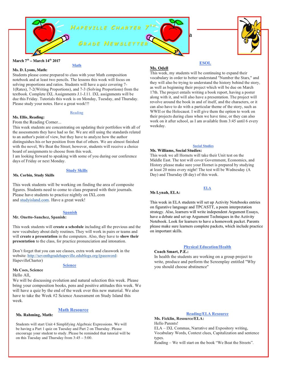Newsletter Image7th Grade Newsletter 3-7-2017 .jpeg