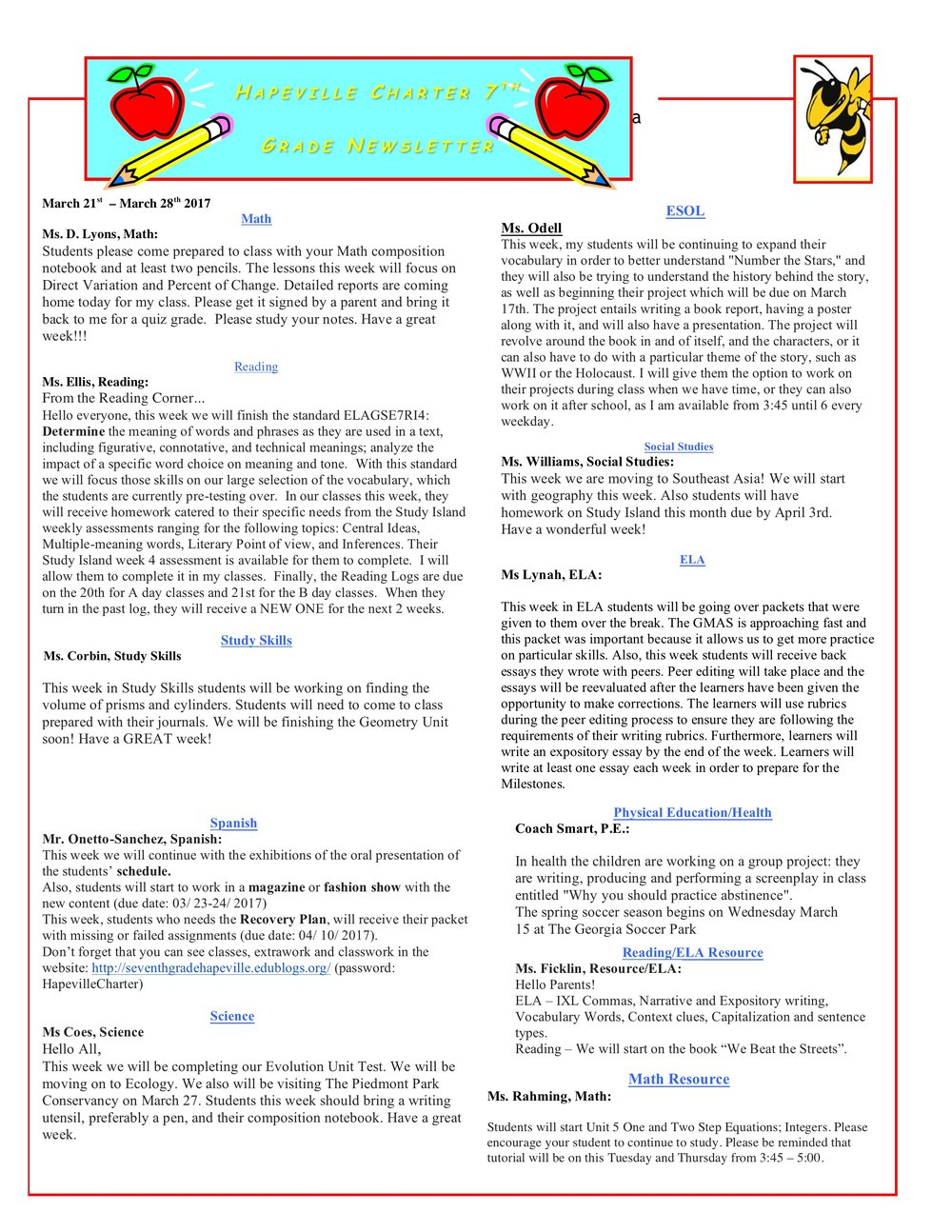 Newsletter Image7th Grade Newsletter 3-21-2017 .jpeg